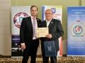 Člen SPHS Peter Nevolný s predsedom KPH Lučenec Kamilom Kolesárom